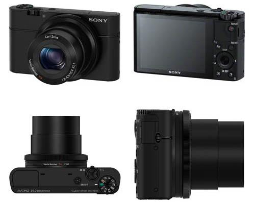 Máy ảnh KTS Sony CyberShot DSC-RX100 - Black