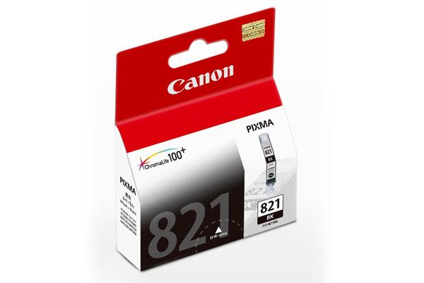 Mực hộp máy in phun Canon CLI 821BK - Dùng cho MP 988/ MP 638/ MP 628 / MP 545 / IP 4680/ IP 3680/ IP 4760/ MP 558/ MP 648/ MP 996/ MP 568, MP 998, MX 868/ MX 876