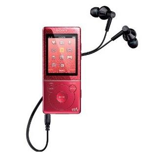 Máy nghe nhạc Sony NWZ E473/R 4Gb - Red