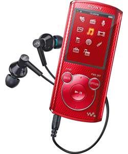 Máy nghe nhạc Sony NWZ E474/R 8Gb - Red