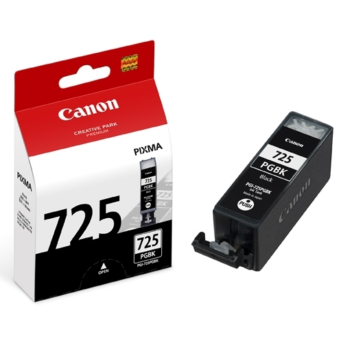 Mực hộp máy in phun Canon PGI-725BK