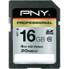 Thẻ nhớ SD PNY 16Gb Class 4