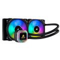 Tản nhiệt nước AIO Corsair H100i RGB Platinum Đen
