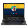 Laptop Lenovo Thinkpad E490S 20NGS01N00 (Core i7-8565U/8Gb/256Gb SSD/ 14.0' FHD/VGA ON/Finger Print/Dos/Black)