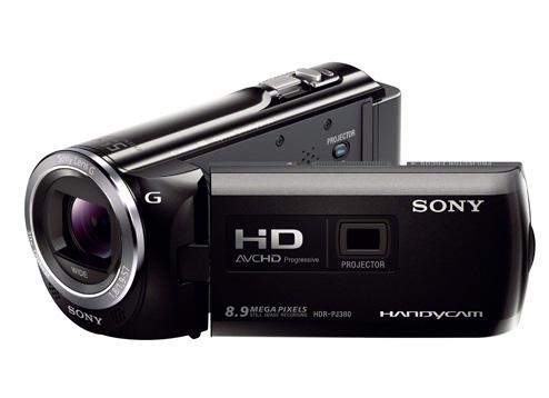 Máy quay KTS Sony Handycam HDR-PJ380E - Black