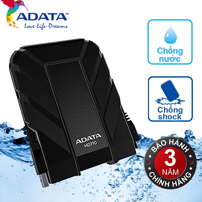 Ổ cứng di động Adata HD710 1Tb USB3.0 - Đen
