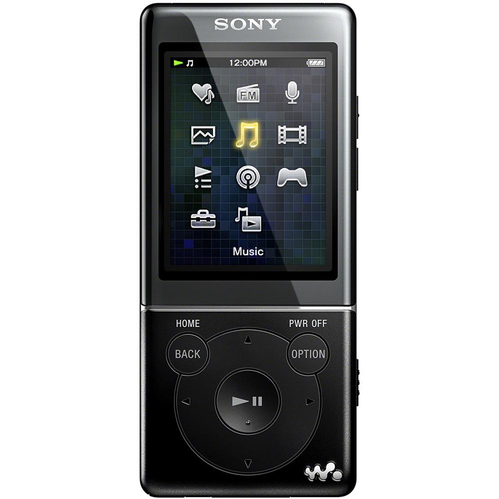Máy nghe nhạc Sony NWZ E473/B 4Gb - Black
