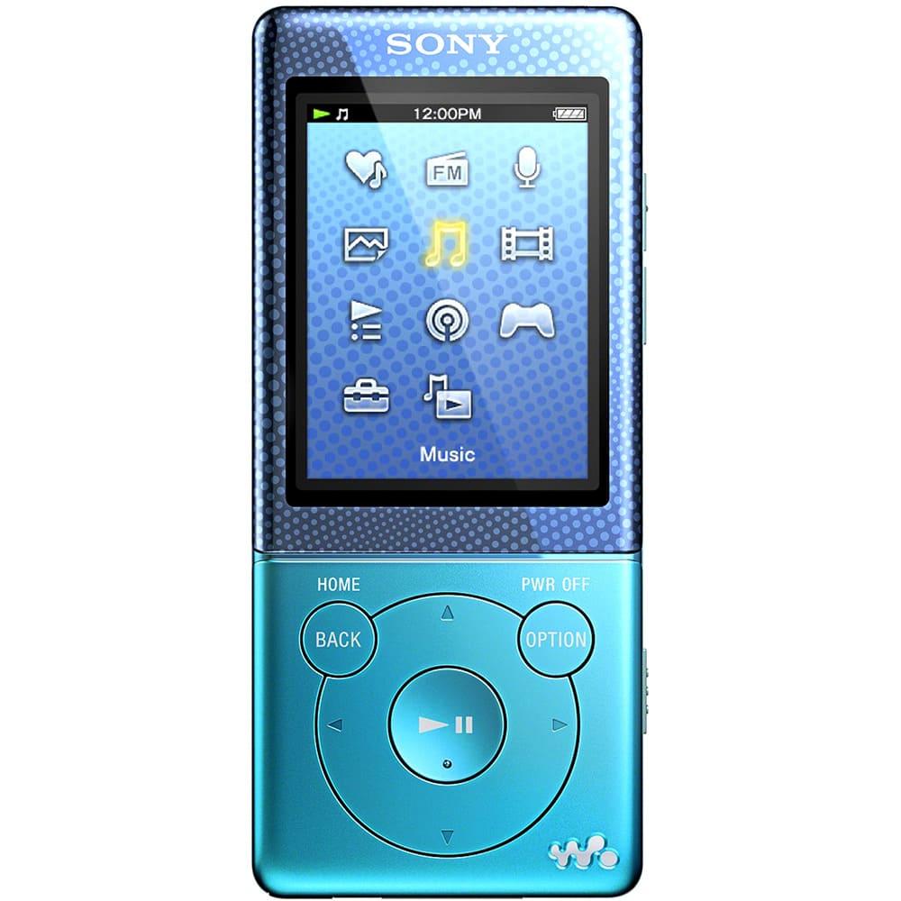 Máy nghe nhạc Sony NWZ E473/BL 4Gb - Blue