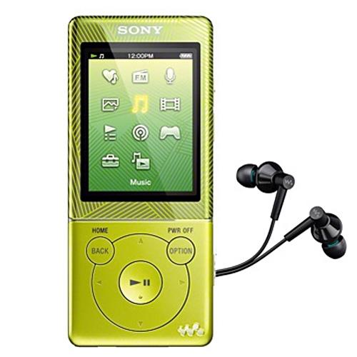 Máy nghe nhạc Sony NWZ E473/GR 4Gb - Green