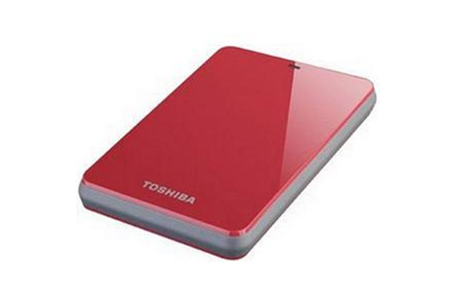 Ổ cứng di động Toshiba Canvio connect 500Gb USB3.0 Đỏ