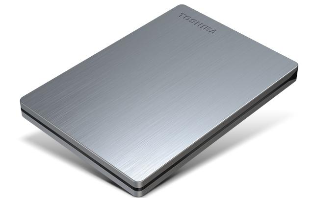 Ổ cứng di động Toshiba Canvio Slim 500Gb USB3.0 Bạc