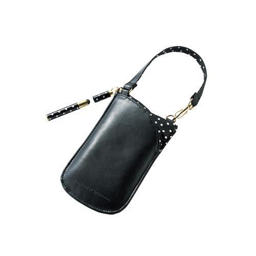 Túi đựng điện thoại DĐ kèm bút cảm ứng Elecom P-01CCGPN