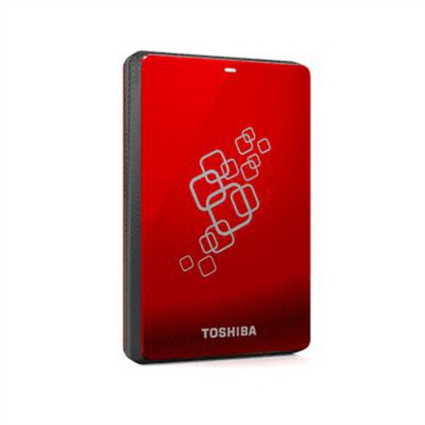 Ổ cứng di động Toshiba Canvio 500Gb USB3.0 Đỏ
