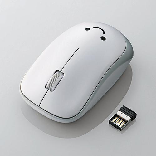 Chuột không dây Elecom M-IR06DRWH (USB, Hồng ngoại)