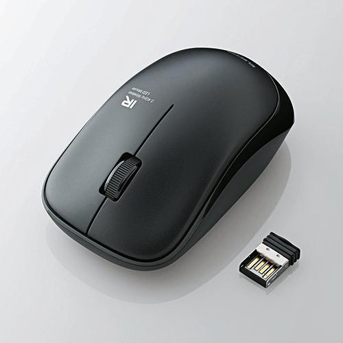 Chuột không dây Elecom Hồng ngoại M-IR06DRBK