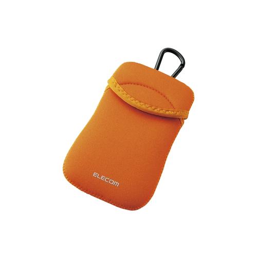 Túi đựng điện thoại DĐ Dùng cho smarphone 5Inch Elecom (Cam)