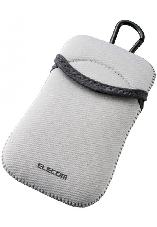 Túi đựng điện thoại DĐ Dùng cho smarphone 5Inch Elecom (Xám)