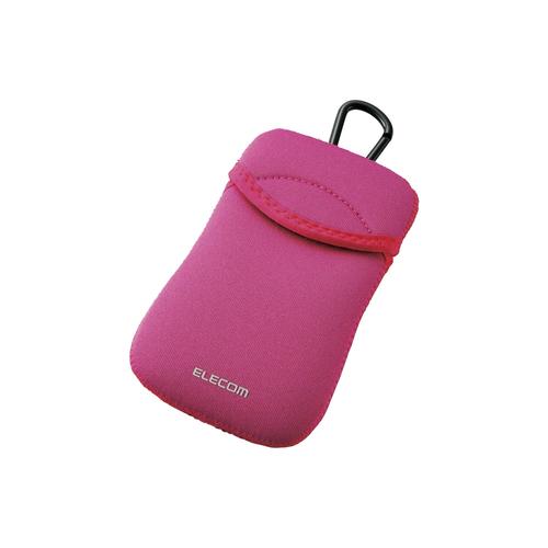 Túi đựng điện thoại DĐ Dùng cho smarphone 5Inch Elecom (Hồng)