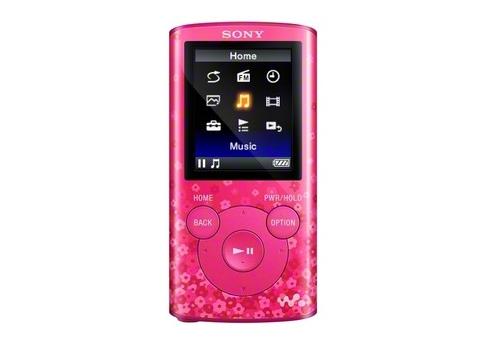 Máy nghe nhạc Sony NWZ E383/P 4Gb - Pink