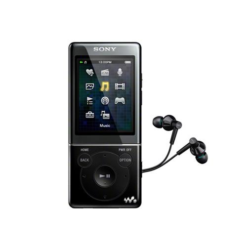 Máy nghe nhạc Sony NWZ E383/B 4Gb - Black