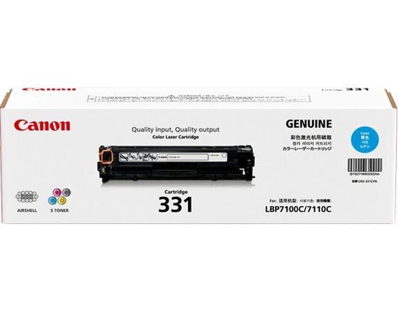 Mực máy in laser Canon 331C - Dùng cho: LBP7110Cw, LBP7100Cn