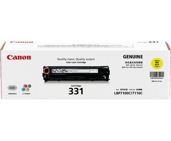 Mực máy in laser Canon 331Y - Dùng cho: LBP7110Cw, LBP7100Cn
