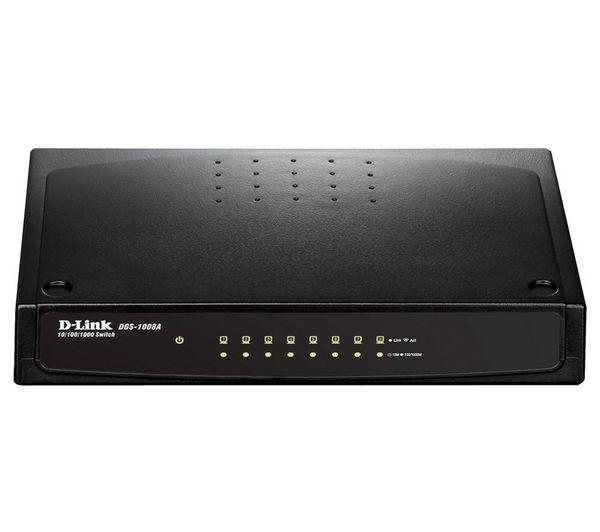 Thiết bị chia mạng Dlink DGS-1008A