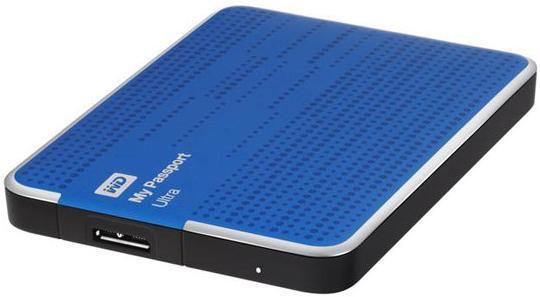 Ổ cứng di động Western Digital Ultra 500Gb USB3.0 Xanh