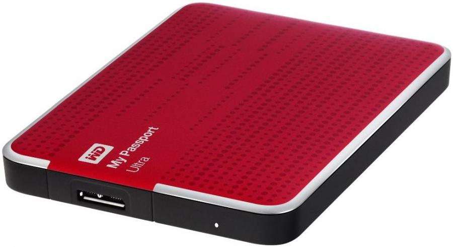Ổ cứng di động Western Digital Ultra 500Gb USB3.0 Đỏ