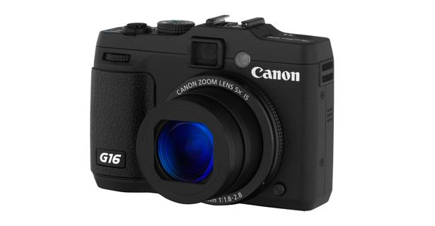 Máy ảnh KTS Canon PowerShot G16 - Black