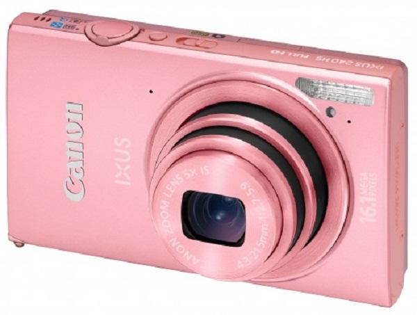 Máy ảnh KTS Canon Ixus 240HS - Pink