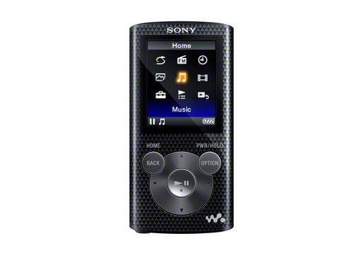 Máy nghe nhạc Sony NWZ E384/B 8Gb - Black