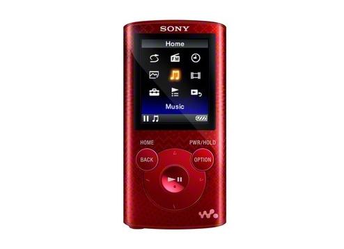 Máy nghe nhạc Sony NWZ E384/R 8Gb - Red