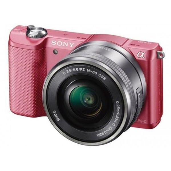 Máy ảnh KTS Sony Alpha ILCE-5000L - Pink