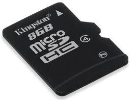 Thẻ nhớ Micro SD Kingston 8G Class 4