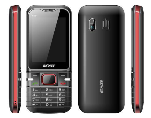 Gionee  L800 (Black)- 2.6Inch/ 2 Sim