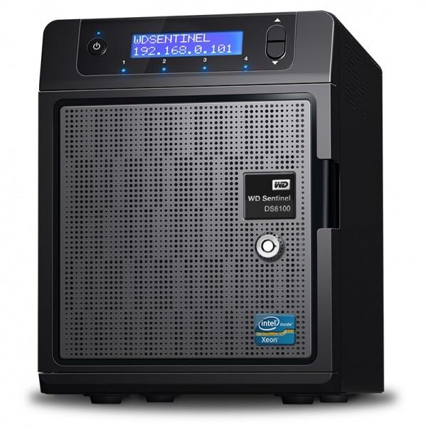 Ổ lưu trữ mạng Western Digital Sentinel DS6100 8Tb
