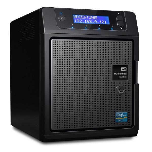 Ổ lưu trữ mạng Western Digital Sentinel RX4100 12Tb