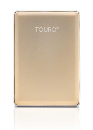 Ổ cứng di động Hitachi (HGST) Touro S 500Gb USB3.0 Vàng