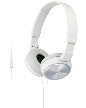 Tai nghe Sony MDR ZX310AP (Trắng)