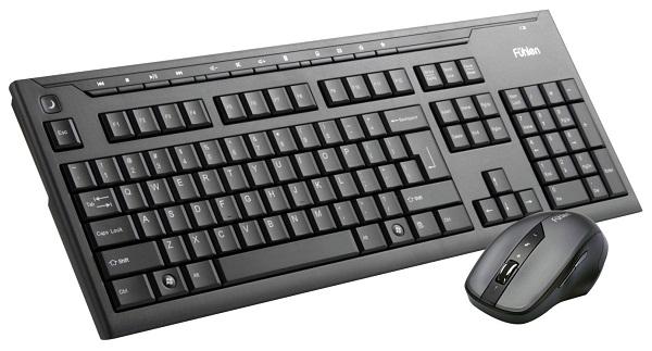 Bộ bàn phím chuột không dây Fuhlen A200G USB-Wireless