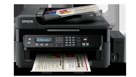 Máy in phun màu Epson L555 (Print Wifi/ Copy/ Scan/Fax)