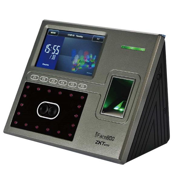Máy chấm công kiểm soát vào ra Kobio Iface800 - Vân tay/ thẻ/ khuôn mặt