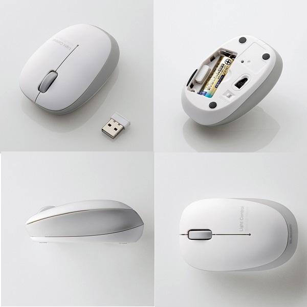 Chuột không dây Elecom M-BL20DBPN (USB, quang)