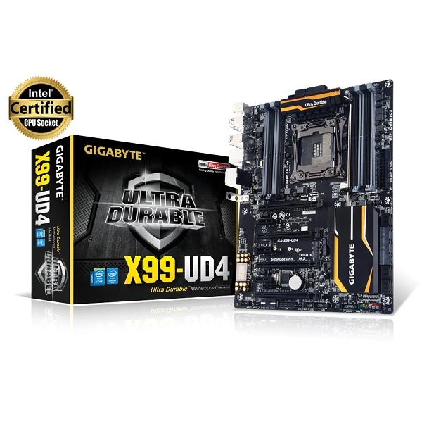 Gigabyte X99-UD4 (Chipset Intel X99/ Socket SK2011-3/ VGA onboard)