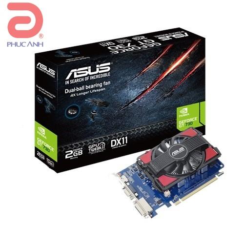 Asus GT730-2GD3 V2 (Geforce GT730/ 2Gb/ DDR3/ 128Bit)