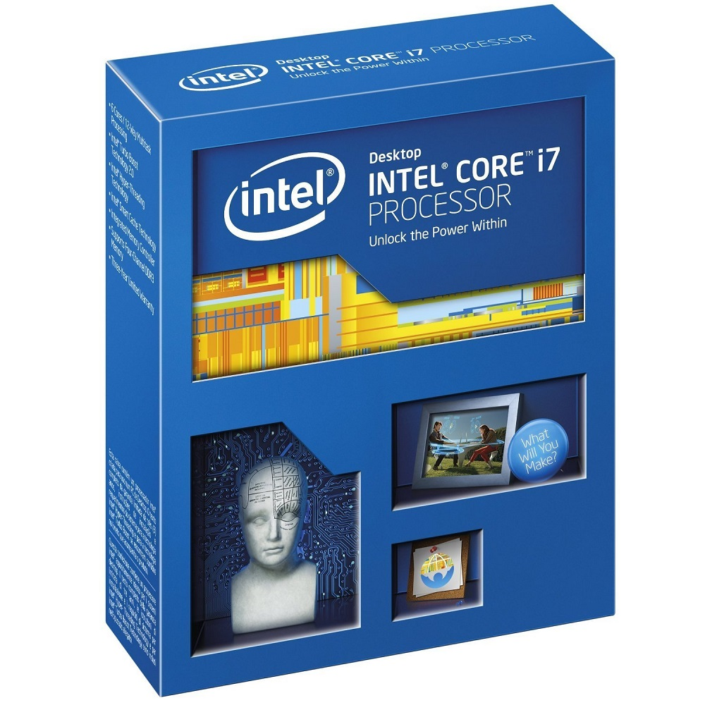 CPU Intel Core i7 5820K (Up to 3.6Ghz/ 15Mb cache)