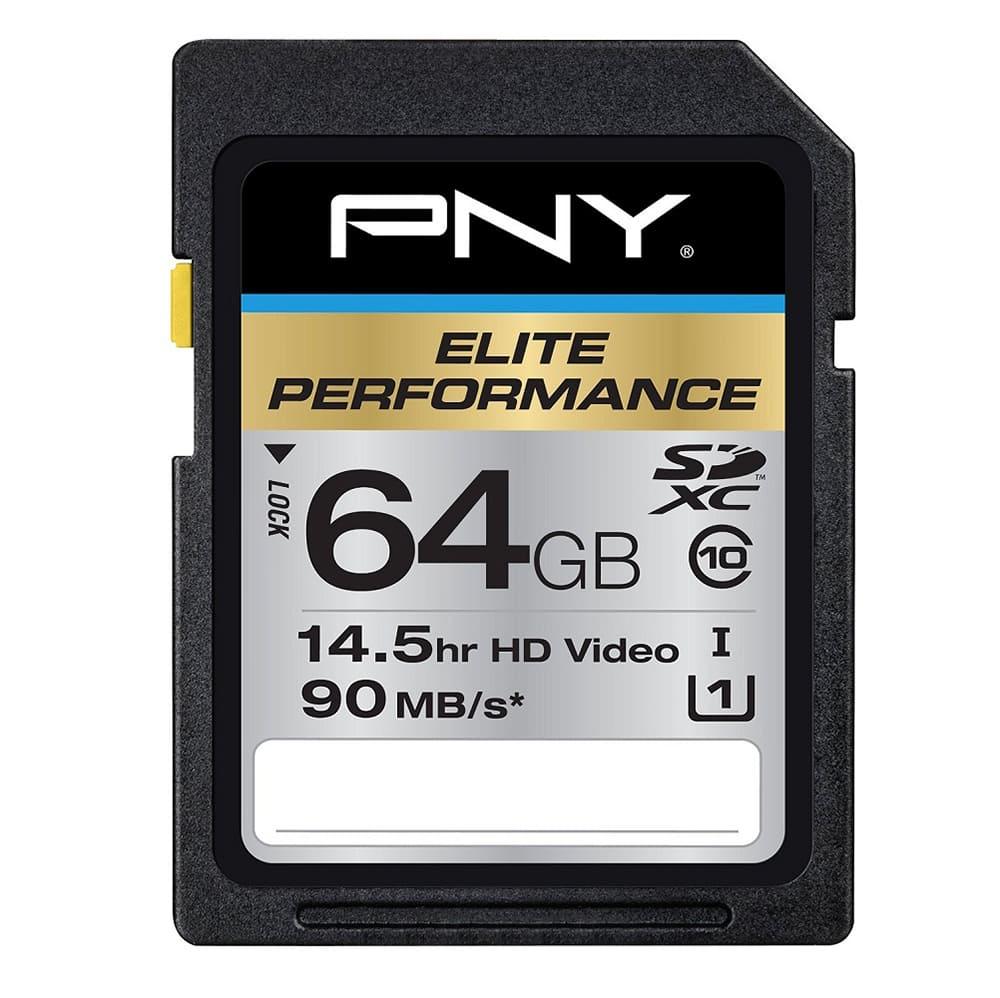 Thẻ nhớ Micro SD PNY UHS-1 64Gb class 10