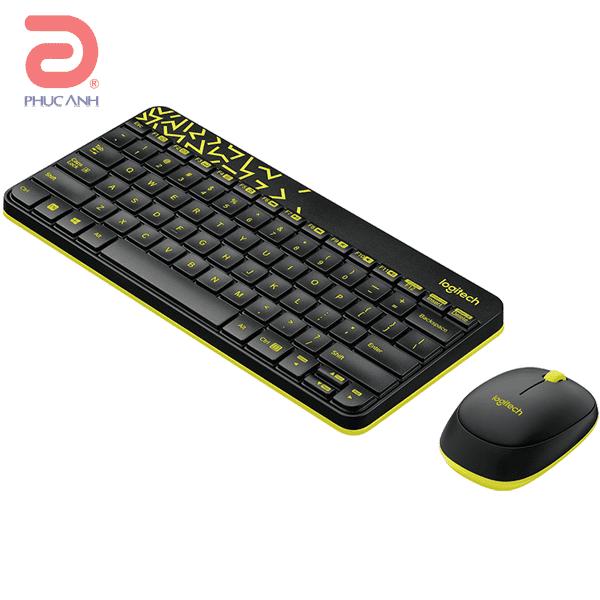 Bộ bàn phím chuột không dây Logitech MK240