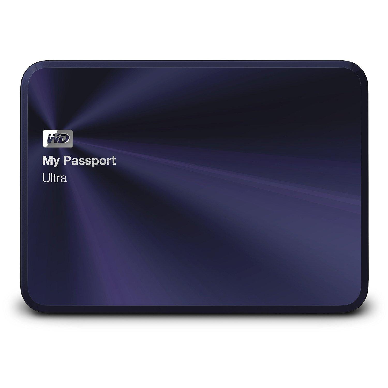 Ổ cứng di động Western Digital Ultra Metal 1Tb USB3.0 Xanh (Vỏ bằng kim loại)